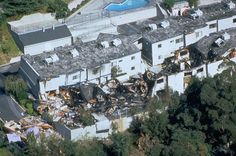 Building collapsed as a result of California's 1994 Northridge earthquake- Photo taken on 01-17-1994 by FEMA.