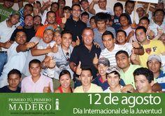 12 de agosto, Día Internacional de la Juventud.