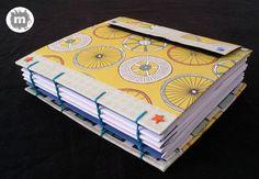 Cuaderno copto http://artesanio.com/murice-regalos-especiales/cuaderno-copto-especial-aniversario+118958