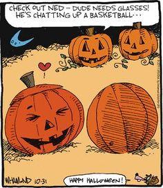 Pumpkin funnies!