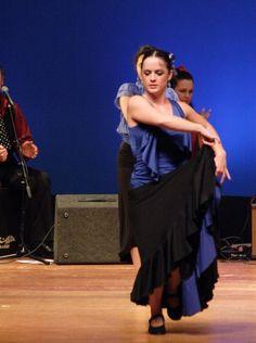 Soleares con vivo - Flamenco Olé Student Concert - Mojácar and Studio Flamenco, 2009.