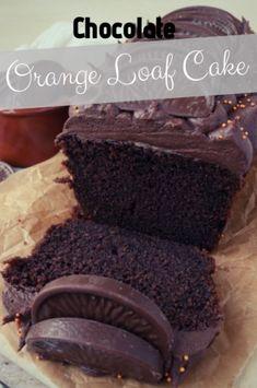 Chocolate Cake Mix Cookies, Cake Cookies, Sweet Recipes, Cake Recipes, Healthy Recipes, Loaf Cake, Chocolate Orange, Sweet Bread, Cake Decorating
