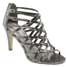 Franco Sarto A-Amica -silver lami size 9.5 medium NWT BRAND NEW IN THE BOX. Exactly as seen in the photos. Color sparkly silver. sold out on the net I found only 1 pair for $35. This is by far the best possible deal you will get in the country. Style A-Amica -silver lami SERIEL# 37870900. Size 9.5 med. Strappy dress pump  Gladiator inspired  Stud details & back zip Style note: This sexy sandal has just the right amount of heavy metal & gladiator detail to keep it on top of the trend. FIT…
