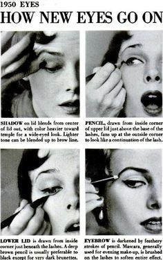 50's make up