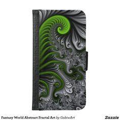 Fantasy World Abstract Fractal Art Samsung Galaxy S6 Wallet Case