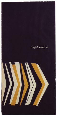 Olle Eksell, Grafisk form nu, 1952. See here for more info: http://my.uarts.edu/blog/creativeconsumption/2011/05/20/inspiration-designer-olle-eksell/