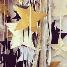 Handmade origami stars