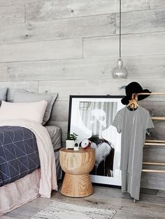 """Scandi-style renovation brings bungalow to life:**Walls** and **floors** in French Grey from [Royal Oak Floors](http://www.royaloakfloors.com.au/