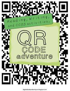Tried It Tuesday (QR Code Adventure)!!