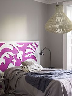 Laser cut headboard, there's potential here.