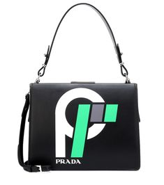 9511589aad8 Love this by Prada Shoulder Bags | ModeSens #ModeSens# Light Frame  Logo-Print Lea... $1225 - $2450 Available from 3 stores