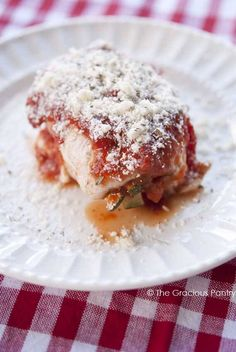 Clean Eating Italian Chicken Rollups
