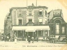 place Pigalle - Paris et Montmartre Paris, Old Paris, Vintage Paris, Old Images, Old Pictures, Vintage Postcards, Vintage Photos, Paris France, Pigalle Paris