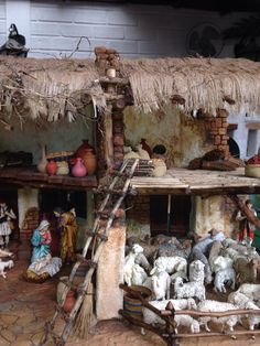 Pin about Christmas nativity scene on nacimiento. Christmas Crib Ideas, Merry Christmas, Christmas Time, Christmas Crafts, Christmas Decorations, Xmas, Christmas Ornaments, Christmas Christmas, Christmas Village Display