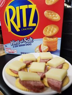 Hint of salt ritz crackers - great low sodium crackers low salt snacks, low sodium Low Salt Snacks, Low Sodium Snacks, Low Sodium Diet, Low Sodium Recipes, Sodium Foods, Low Carb, Dinners For Kids, Dinner Recipes For Kids, Healthy Dinner Recipes
