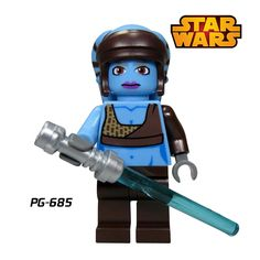Building Blocks Aayla Secura Star Wars Jedi Knight Models diy figures Bricks Super Heroes Kids DIY Educational Toys Gift Hobbies