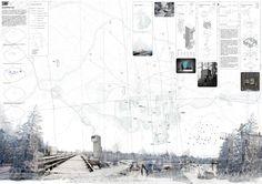 Propuestas presentadas al Concurso de Arquitectura para Estudiantes Observatorio Boreal Ártico Organizado por ARCHmedium