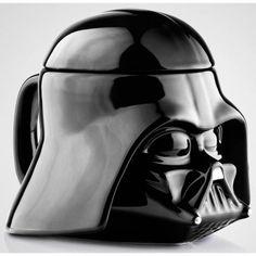 Taza Darth Vader 3D, de cerámica - Tienda de regalos originales QueLoVendan.com