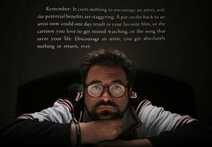 Kevin Smith on encouraging artists