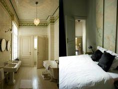 Bathroom & Bedroom / Boulevard Leopold Antwerp