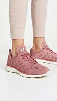 Fabric: Textured knit EVA midsole Padded cuff Logo webbing pull tab Additional laces included Lace-up closure Rounded toe Rubber sole Imported, China This item cannot be gift-boxed Apl Shoes, Sports Women, Active Wear For Women, Running Shoes, Lace Up, Athletic, Heels, Labs, Labrador