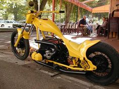BMW Chopper Custom