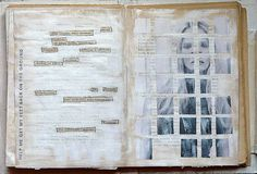 Compartmentalizing one's self...   #art #journal