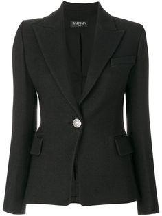 Balmain single button jacket