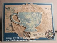 Tea Shoppe, #stampin up, #Tea for Two, #stampin' up spring catalog