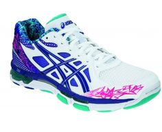 ASICS Gel-Netburner Professional 10 Women's Netball Shoes - 6 - Blue Forefoot and Rearfoot GEL - Shock absorbing material placed in midsole of shoe. Shape of units designed for special function.. AHAR - ASICS High Abrasion Resistant rubber on the outsole. Helps cut down on excessive wear.. P.H.F - Personal Heel Fit moulds and customises itself to the individual heel shape of each wearer.. Clutch C... #ASICS #Shoes