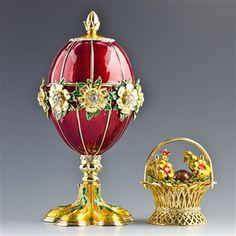 Flowers Basket Faberge Egg (copy)