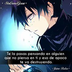 Te las pasas. #ShuOumaGcrow #Anime #Frases_anime #frases