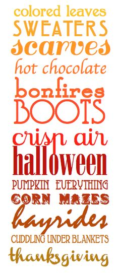 Free printable. DIY. Fall. Craft.