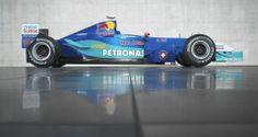 2001 - the SAUBER PETRONAS C20  Latest news: www.sauberf1team.com Videos: www.youtube.com/sauberf1team