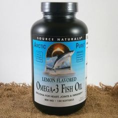 Source Naturals Omega-3 rybí olej Arctic Pure, 800 mg x 120 softgel kapslí