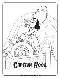 Disney Coloring Pages and Sheets for Kids: Jake and the Neverland ...