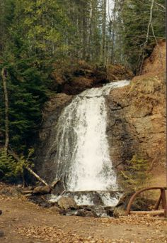 Haven Falls is one of the more isolated waterfalls in the Keweenaw Peninsula, Michigan. Michigan Waterfalls, Keweenaw Peninsula, Copper Harbor, Great Lakes Region, Lake Huron, Water Sources, Upper Peninsula, Lake Erie, Lake Superior
