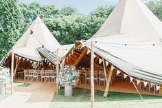 At Home Rustic Tipi Wedding in Hastings | Navy Wedding Party Suits & Gowns | Festoon Lights | White Stag Wedding Photography | David Findlay Video Filming Back Garden Wedding, Home Wedding, Tipi Wedding Inspiration, Wedding Ideas, Marquee Wedding, Tent Wedding, Wedding Signs, Provence Wedding, Wedding Venue Decorations