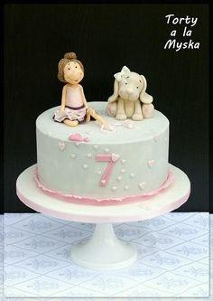 ballerina and her puppy - Cake by Myska