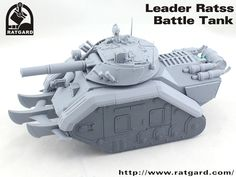 Ratgard: conversion set for Leman Russ battle tank(with paint pics) - Forum - DakkaDakka | At the intersection of grim and dark.
