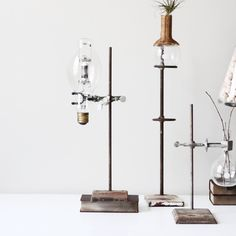 industrial lab stand no 2 by AMradio on Etsy, via Etsy.