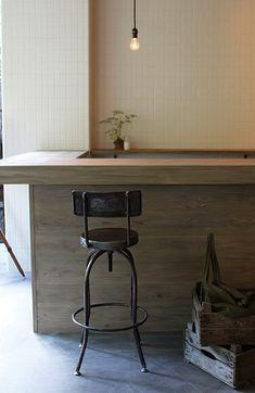 industrial screw counter chair インダストリアル スクリュウ カウンター | リグナ東京