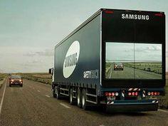 "Nu finns ""genomskinlig"" lastbil"