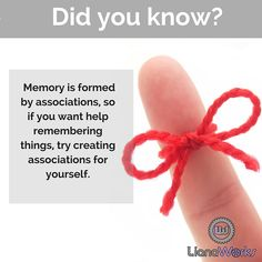 A cool tip for remembering things. #memory #brainscience