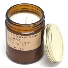My-oh-my does this candle smell heavenly! $20 at www.mooreaseal.com