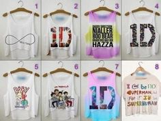 T-Shirt harry styles one direction tank top top one direction crop top One Direction Shirts, One Direction Outfits, One Direction Concert, I Love One Direction, Celebrity Fashion Outfits, Celebrities Fashion, Celebrity Style, Women's Fashion, Merian