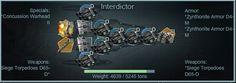 Interdictor Advanced Fleet Builds Strategy for Battle Pirates