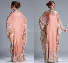 Wholesale Mother of the Bride Dresses - Buy 2014 Sexy New Long Sleeves Mother Of The Bride Dress Chiffon Lace Appliqued Beaded Arab Muslim Formal Women Gown JQ3309, $111.43 | DHgate