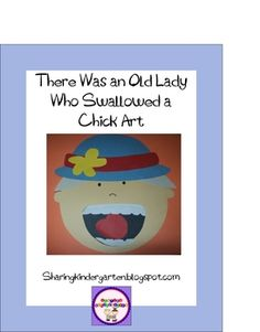 There Was an Old Lady Who Swallowed a Chick Art