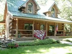 Quilted charm in the country